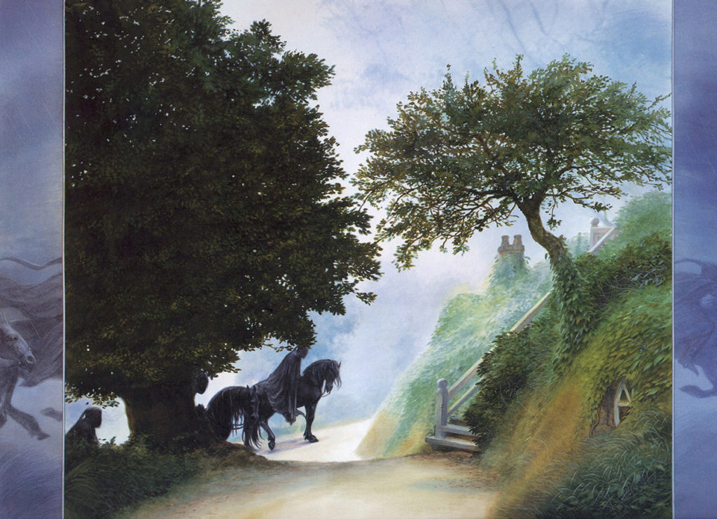 Black Riders in the Shire - John Howe