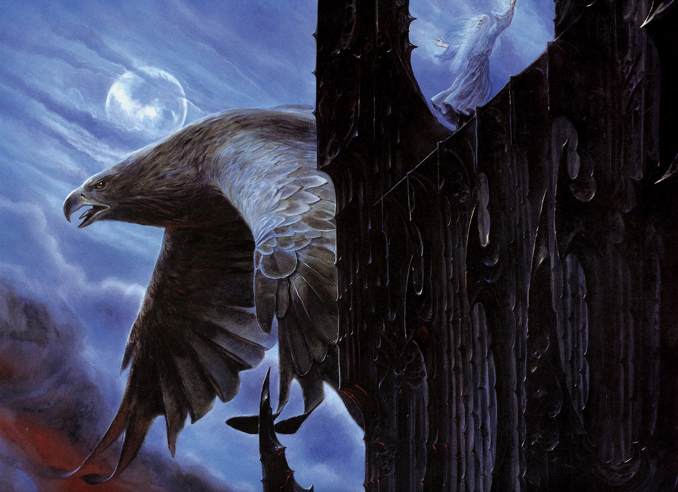 Escape from Orthanc - John Howe