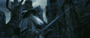 Gandalf at Dol Guldur