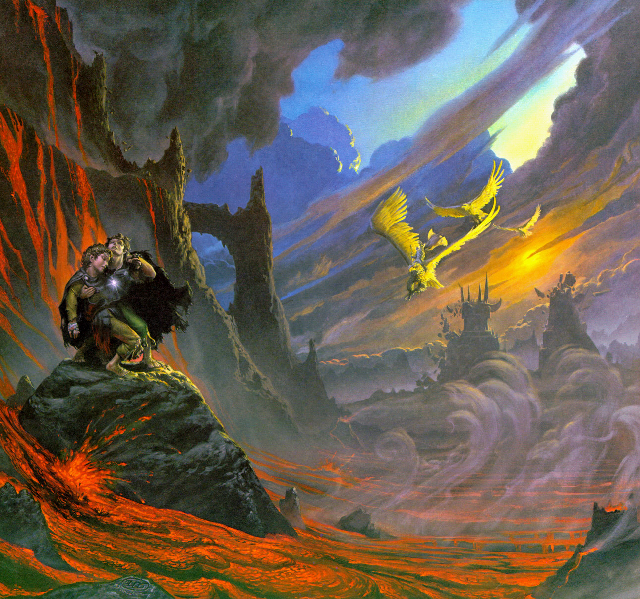 The Eagles are Coming - Michael Whelan