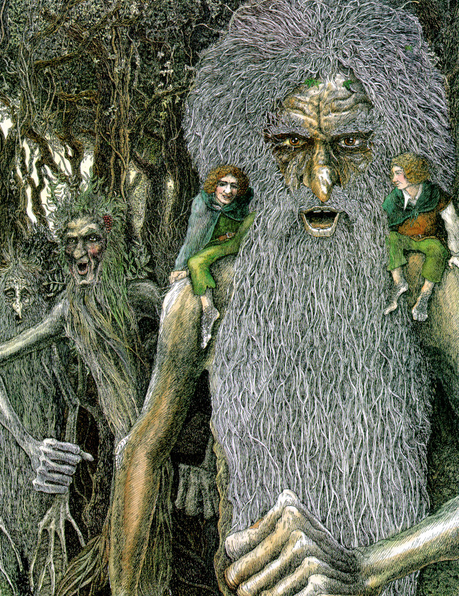 Treebeard and the Ents - Timothy Ide