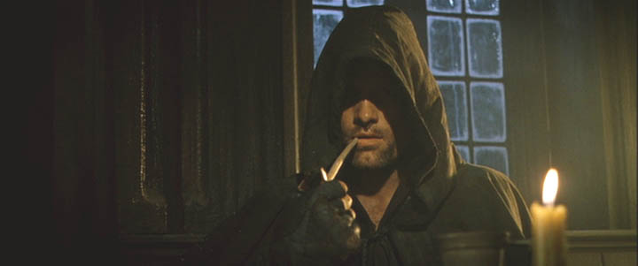 Aragorn with pipe