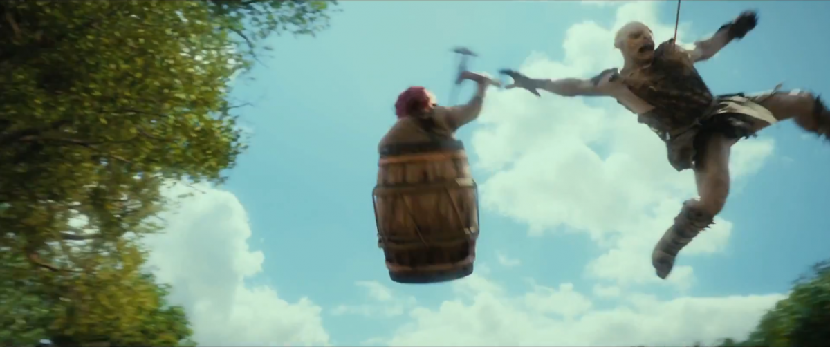Bombur in a Barrel