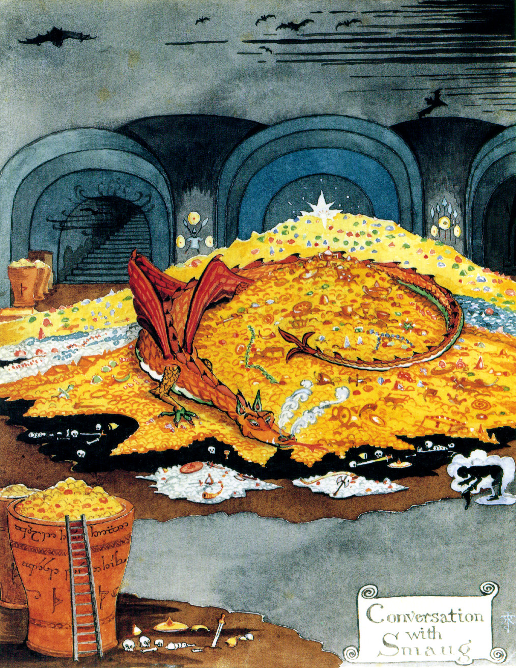 Conversations with Smaug - J.R.R. Tolkien