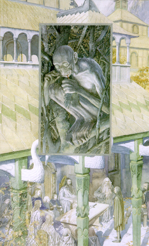 The Council of Elrond - Alan Lee