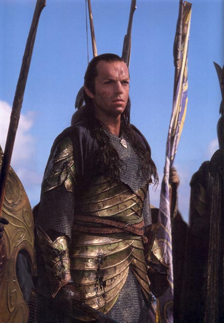 Elrond at at War with Sauron
