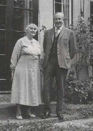 JRR and Edith Tolkien