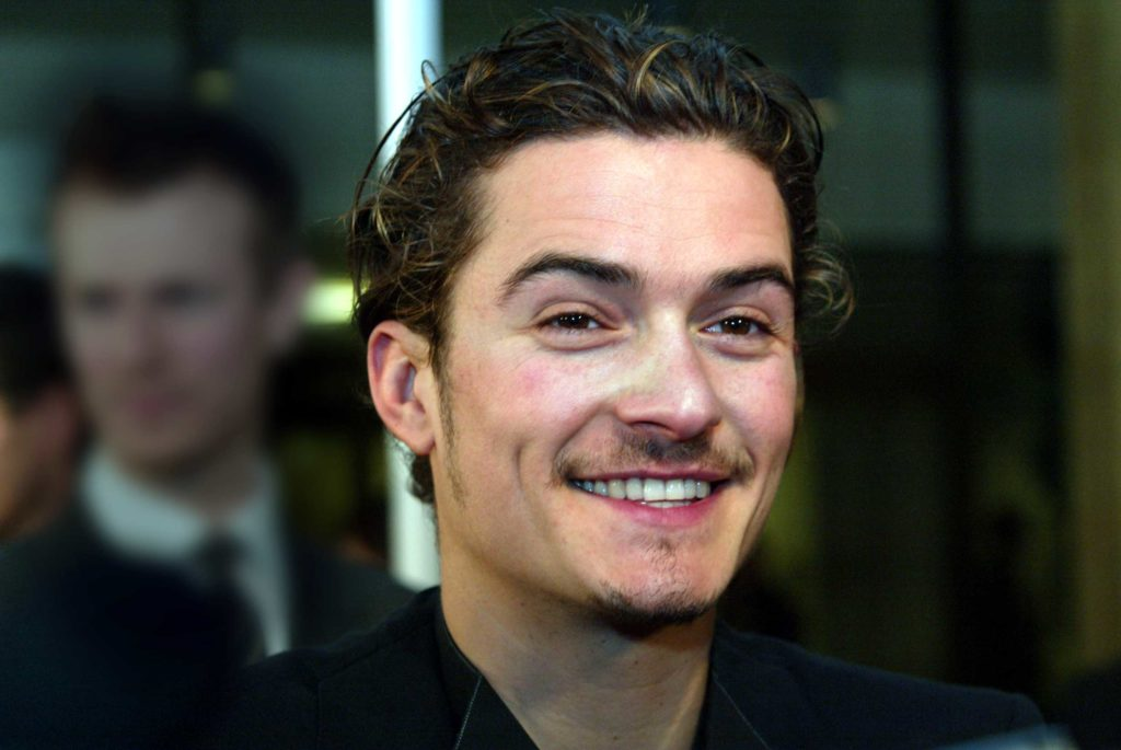 Orlando Bloom at the Two Towers Premier