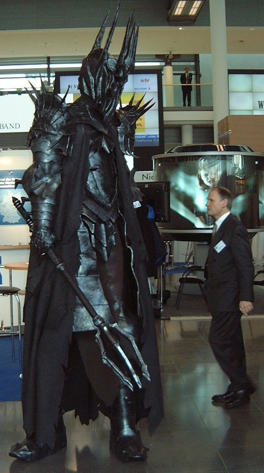 Michael Schachtner as Sauron - Costume Contest