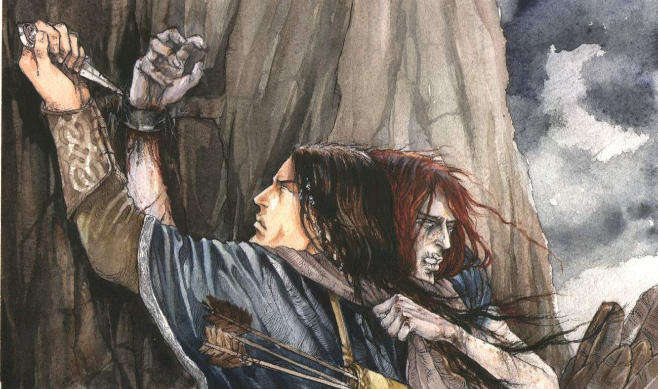 Rescue of Maedhros from Thangorodrim - Catherine Karina Chmiel