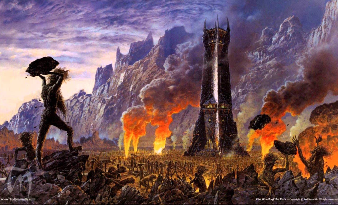 Wrath of the Ents - Ted Nasmith